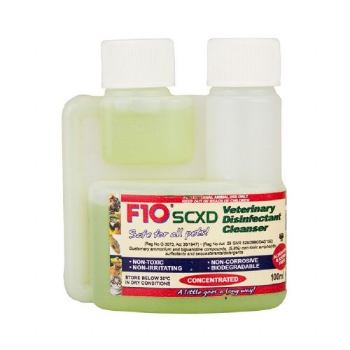 F10 SCXD Veterinary Disinfectant/Cleanser 100ml VFD200